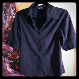 👗NEW ITEM👗VTG PIN-UP/Rockabilly button down top